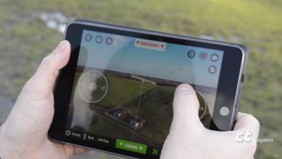 [LUFTVIDEO] c`t Magazin – Testflug: Quadkopter Parrot Bebop 2